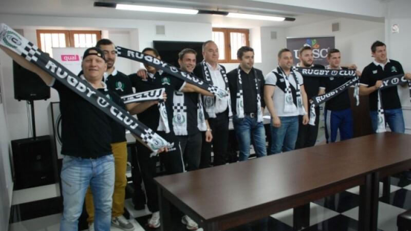 """Rugbistii de la U Cluj au planuri mari: """"Vrem sa terminam in primele 4 echipe""""!"""