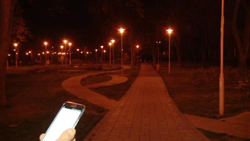 Sistem inteligent de iluminat la Timisoara. Aplicatia de 19.000 de euro prin care primaria aprinde lampile din parc