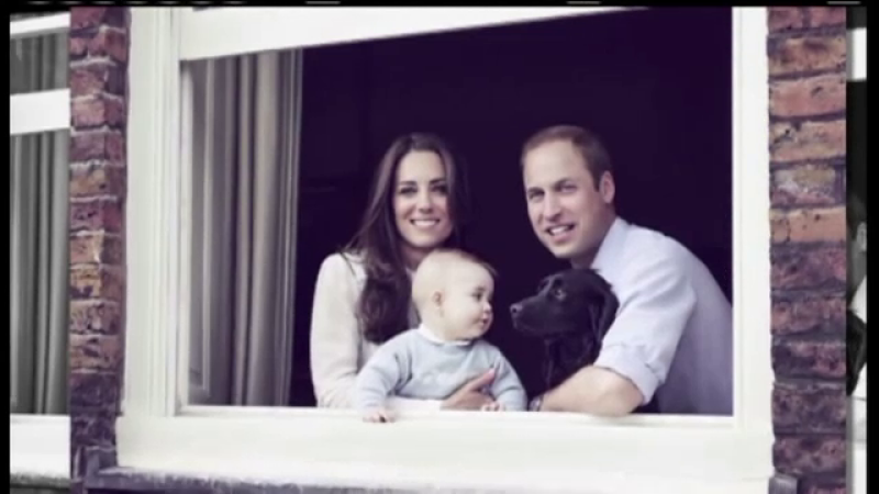 Printul William, Ducesa Kate, Printul George