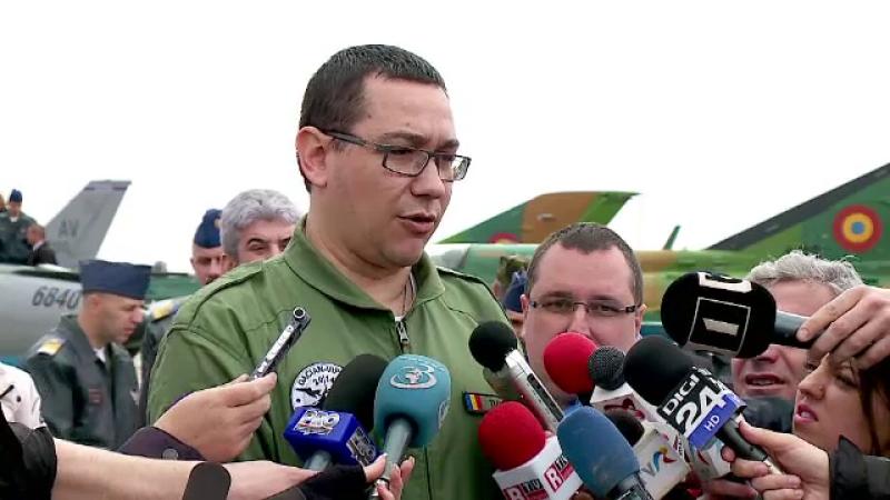Victor Ponta, prim-ministrul Romaniei: