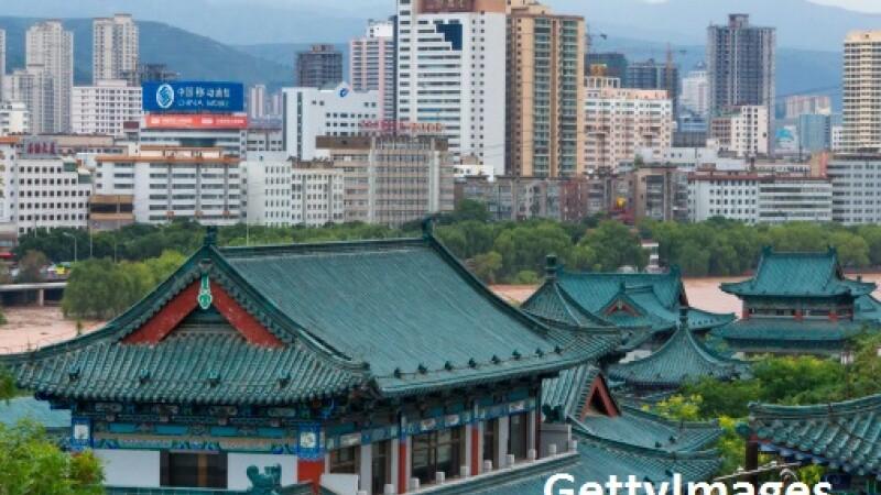 Cladiri in China