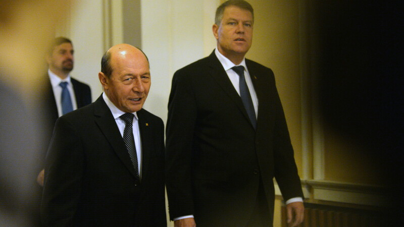 Traian Basescu, Klaus Iohannis