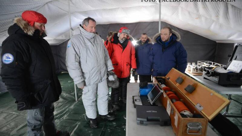 Dmitri Rogozin in insulele Svalbard