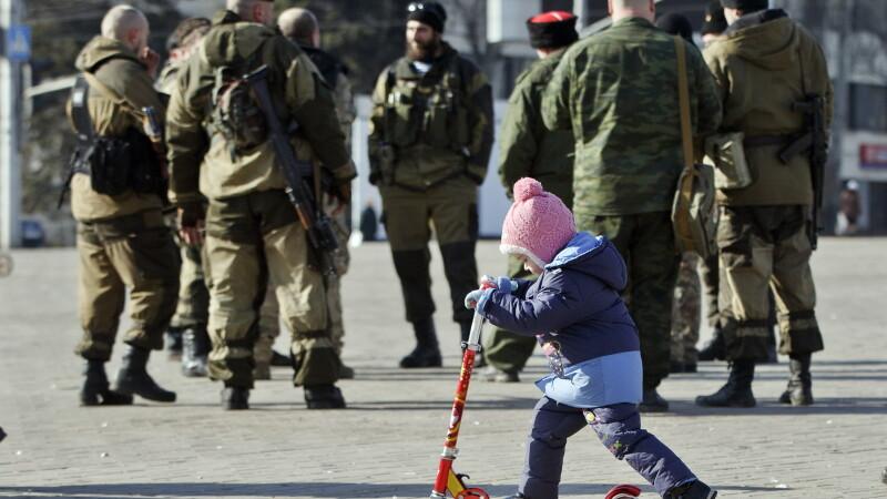 Copil in Ucraina