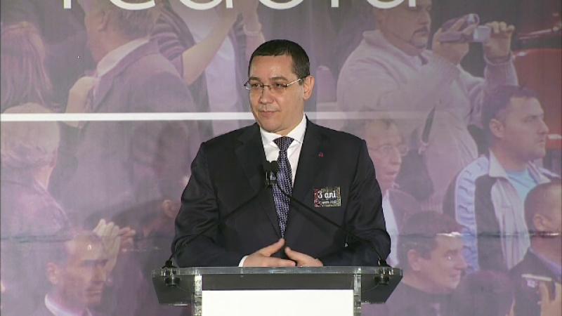 Victor Ponta a sarbatorit trei ani de la demiterea Guvernului Ungureanu. Reactia lui MRU: