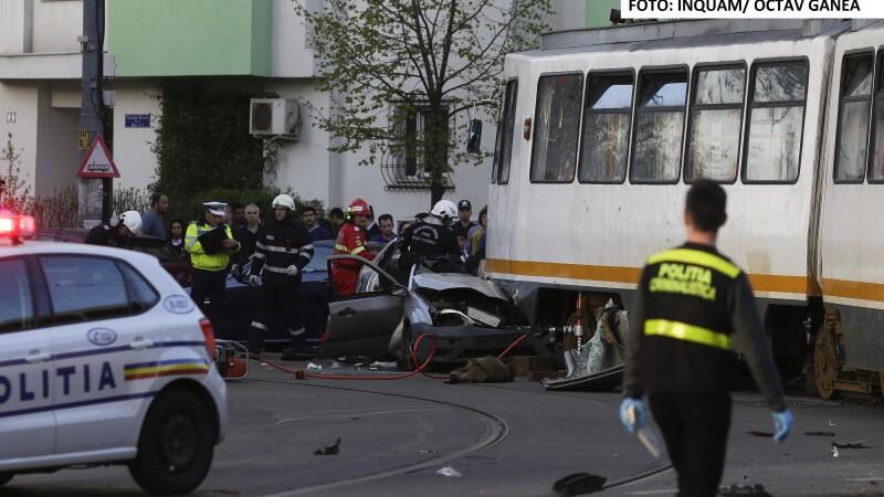 accident tramvai - INQUAM