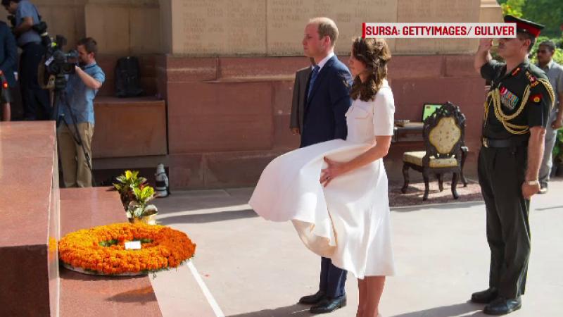 William si Kate in India