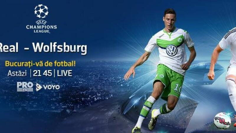 Real Madrid – Wolfsburg