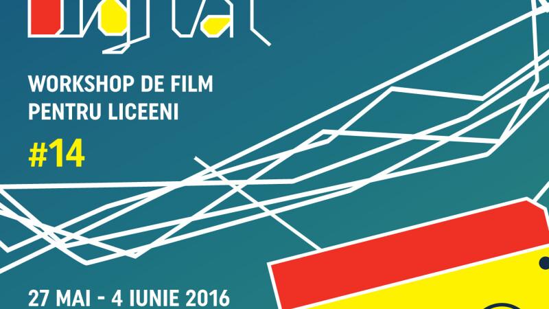 Start pentru inscrierile la Let's Go Digital!, atelierul pentru liceeni de la TIFF