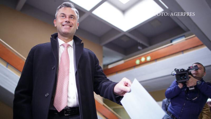 Norbert Hofer voteaza la alegerile din Austria