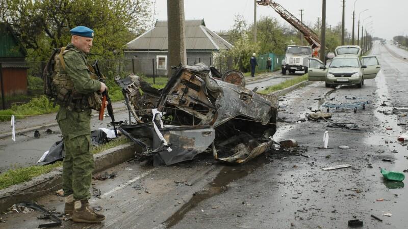 bombardament Ucraina - Agerpres