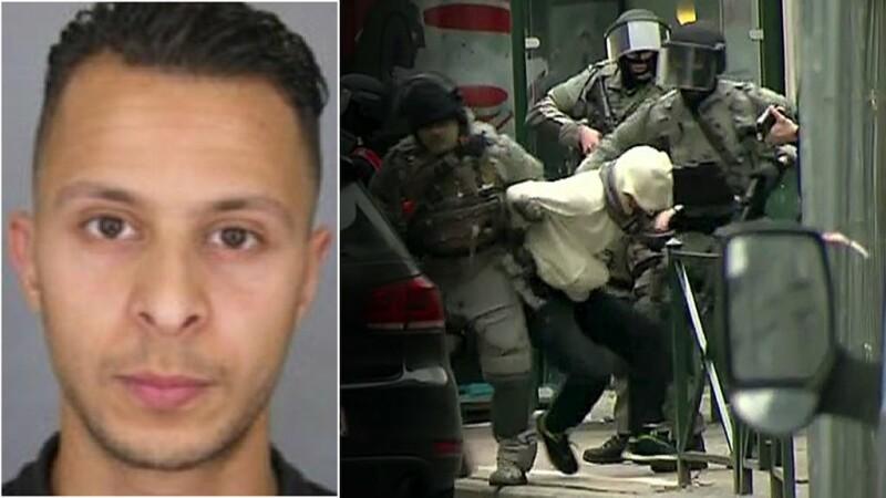Salah Abdeslam, inculpat pentru asasinat cu caracter terorist. A fost transferat in cea mai mare inchisoare din Europa