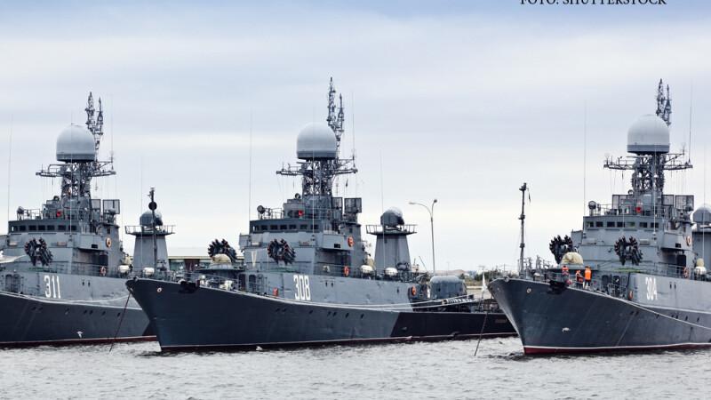 Rusia ameninta oficial Romania din cauza proiectului unei flote NATO in Marea Neagra.