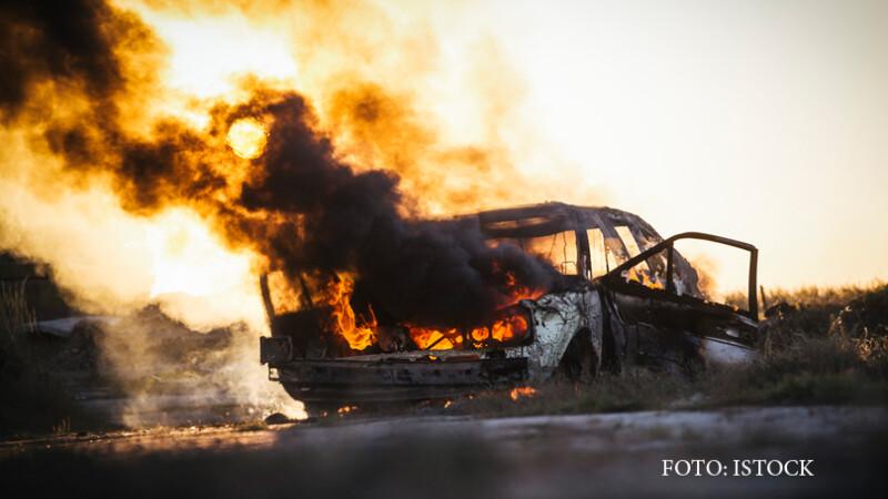 masina care arde