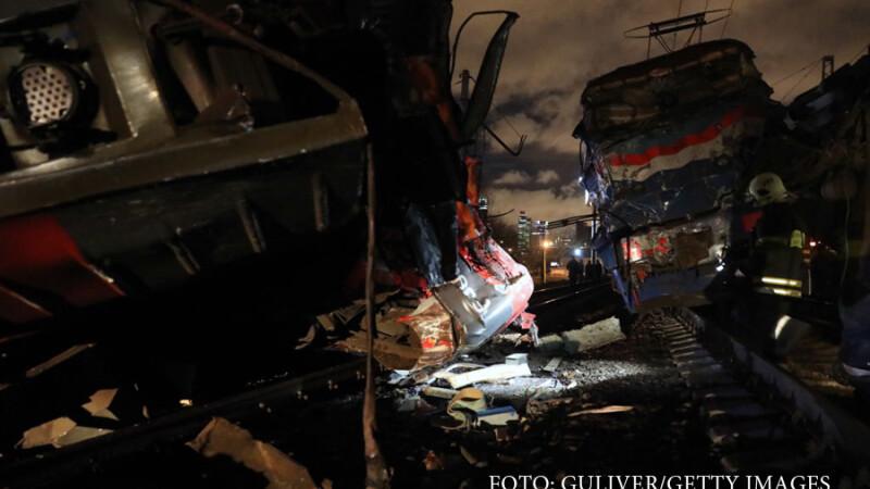 accident feroviar Rusia