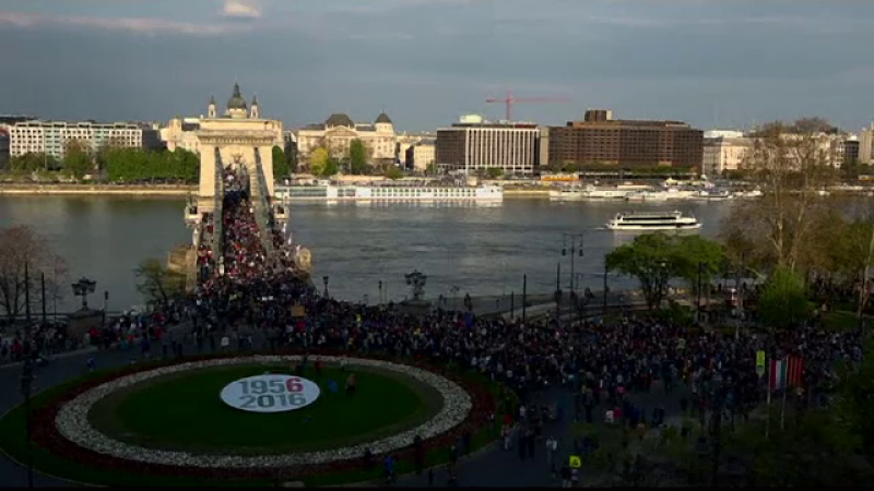 protest budapesta
