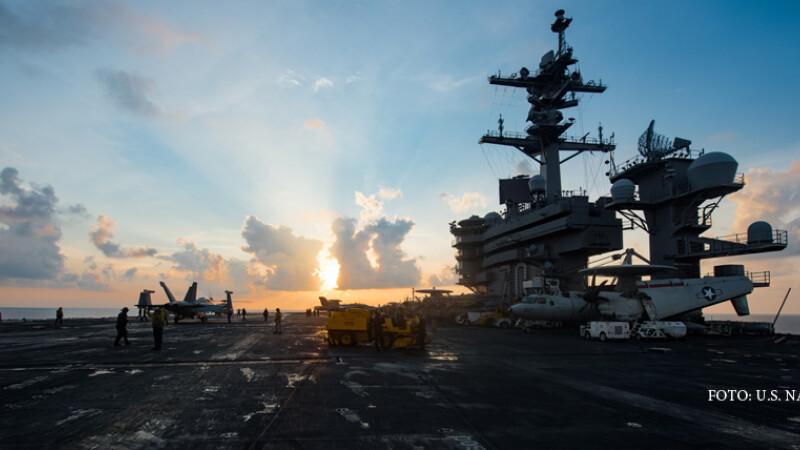 portavionul USS VInson