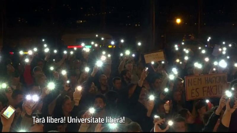 proteste Budapesta