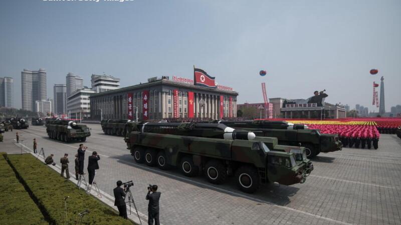 parada militara in Coreea de Nord - 6