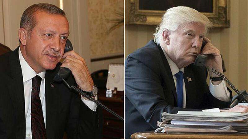 Trump, Erdogan - split