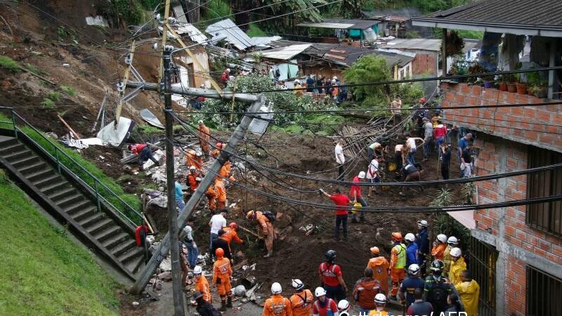columbia alunecari de teren