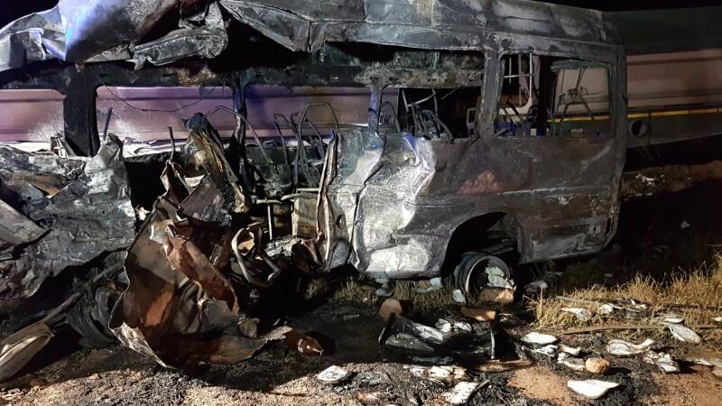 accident Africa de Sud