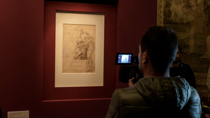 Michelangelo, Sacrificiul lui Iasaia - Getty