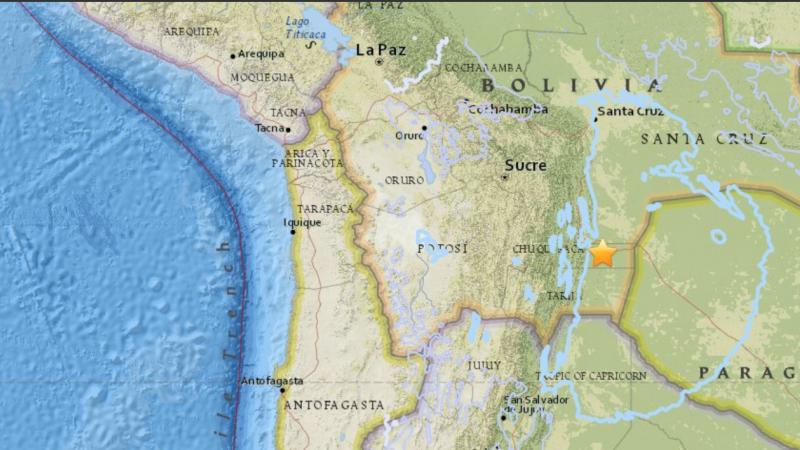 Cutremur Bolivia