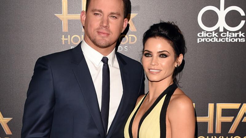 Channing Tatum şi soţia sa, Jenna Dewan