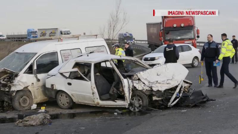 accident polițiști Iași