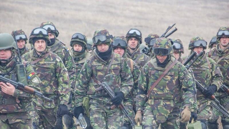miltari români