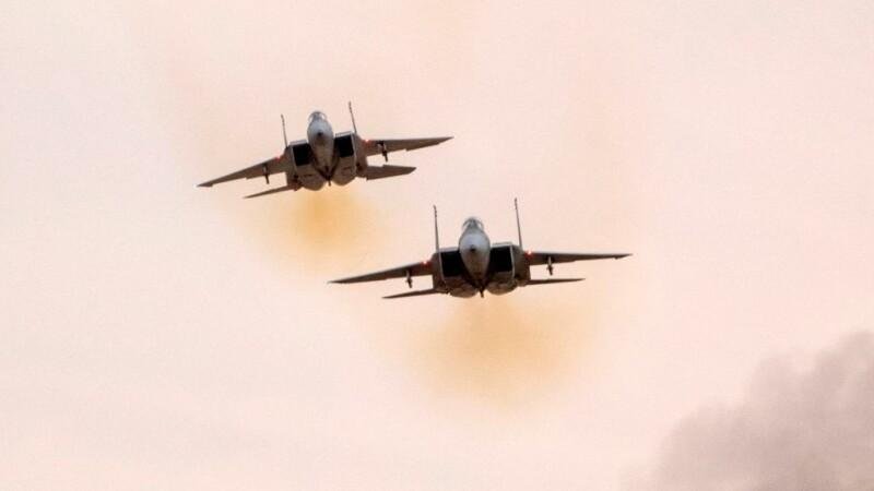avioane F-15 israliene