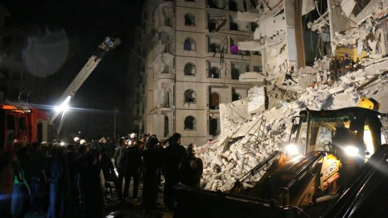 Explozie cu 11 morţi şi zeci de răniţi, într-un oraş din Siria controlat de Al-Qaida