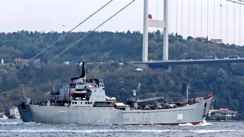 nave militare Rusia