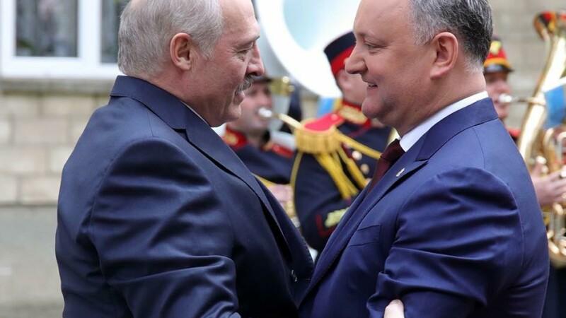 Igor Dodon si Aleksandr Lukasenko