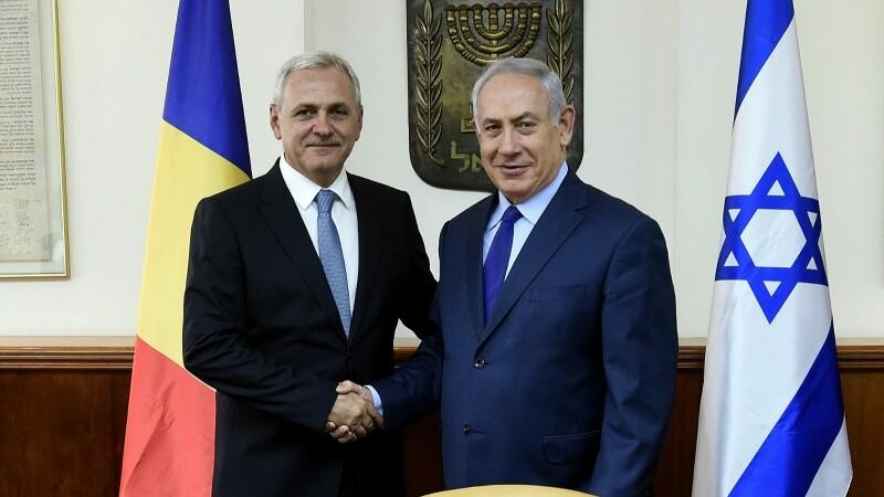 """Dragnea susține că """"România ar avea de câştigat"""" dacă ar muta ambasada în Ierusalim"""