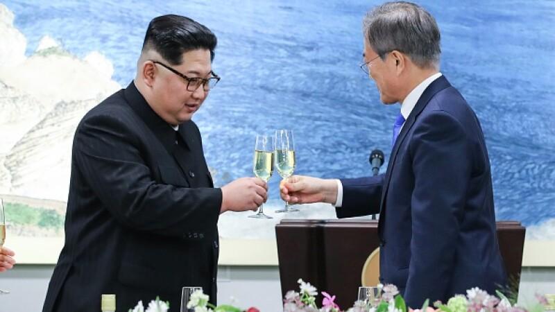 Coreea de Nord, Coreea de Sud, Kim Jong Un, Moon Jae-in,