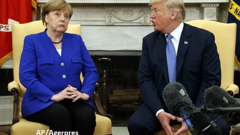 Donald Trump, Angela Merkel - AP/Agerpres