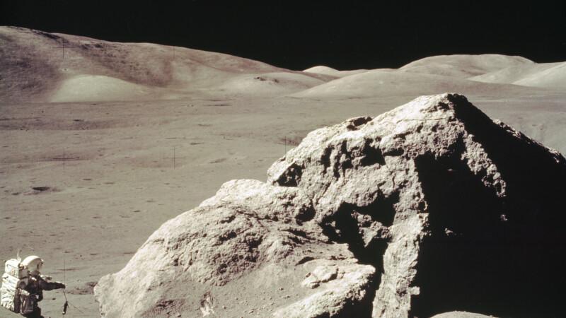Imagini din cursul misiunilor americane Apollo pe Luna - 10