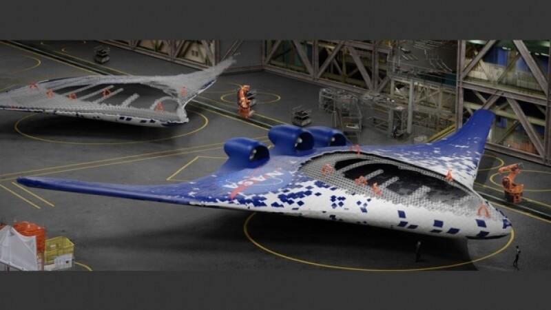 Avionul viitorului. NASA a creat aripi ultra-flexibile care își pot schimba forma în zbor