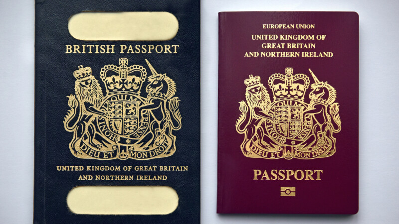 Uniunea Europeană, scoasă din pașapoartele britanice. Măsură aplicată înainte de BREXIT