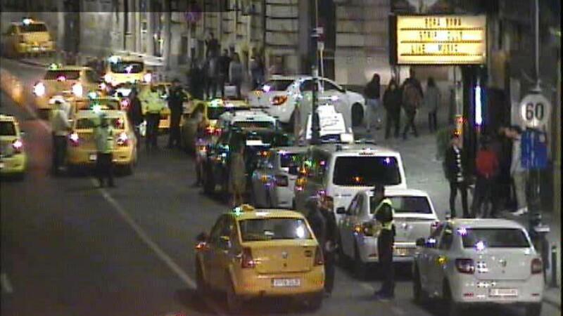 Controale în centrul Capitalei. Ce au pățit taximetriștii cu tarife înșelătoare