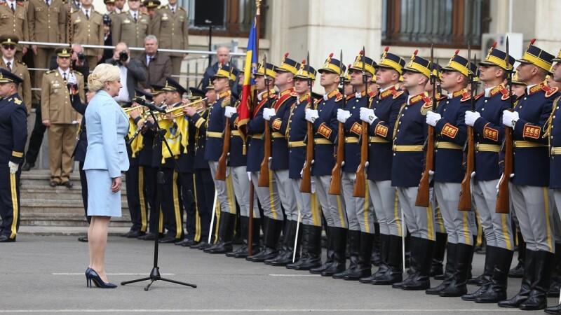 Dăncilă, discurs citit despre NATO.