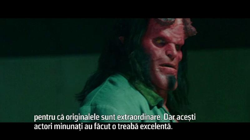 """Hellboy"" revine pe marile ecrane. Mila Jovovich: ""Aveam emoții"""