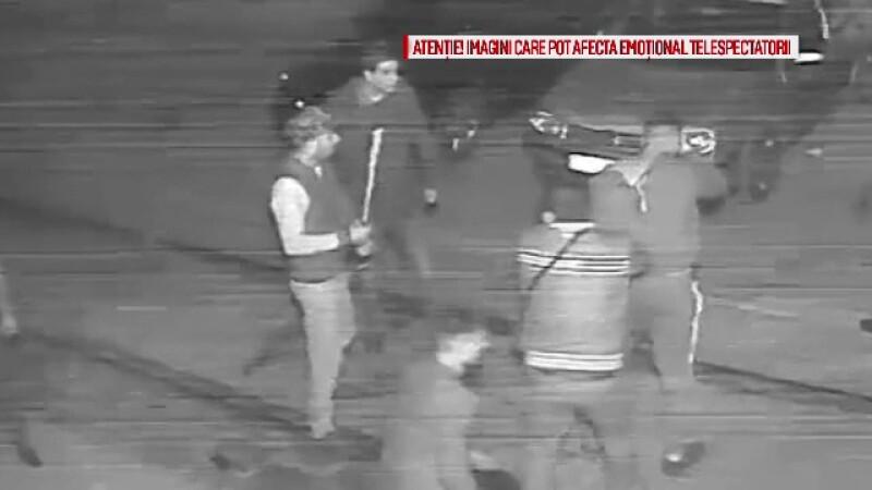 Mărturia tânărului călcat în picioare de 16 taximetriști. Scadalul a pornit de la o boxă