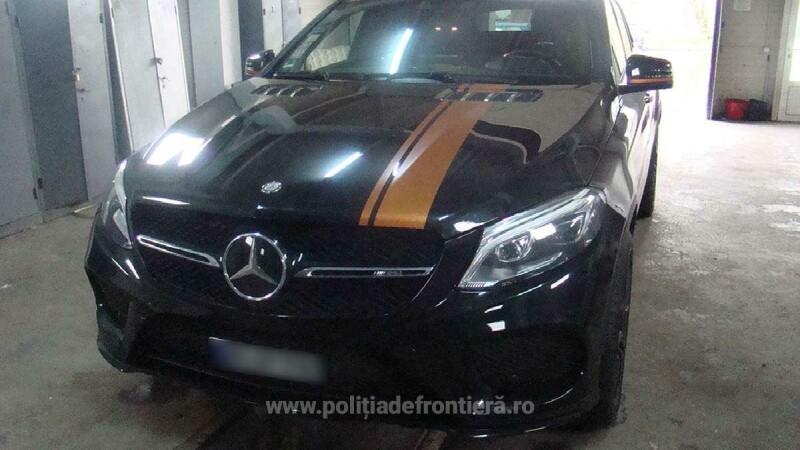 Motivul pentru care un șofer a rămas fără Mercedesul de 74000 euro, la graniță