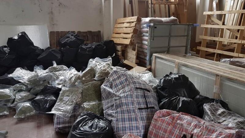 Captură de 500 kilograme de droguri în Italia