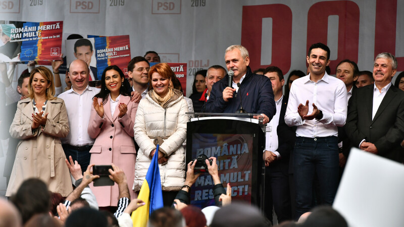 Dragnea, după mitingul de la Craiova: Legătura dintre PSD şi cetăţeni nu poate fi tăiată