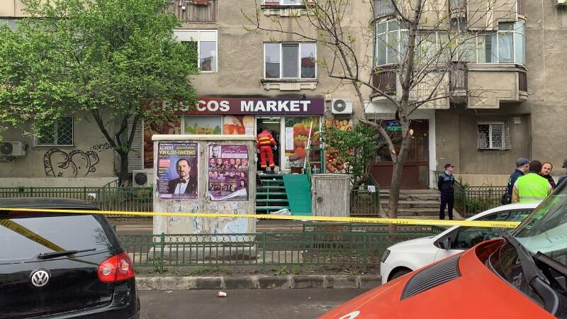 femeie înjunghiată magazin
