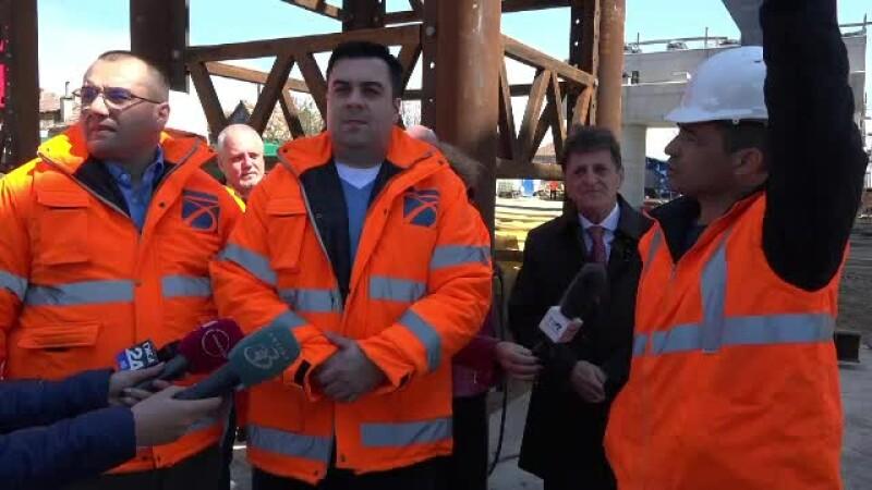 Ministrul Transporturilor, la pas pe şantierele de pe Autostrada Transilvania. Nemulțumirile sale